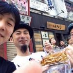 下北沢 秋のイカ祭りの動画の字幕を英語でつくってその指導をオンライン英会話で受ける